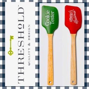 🎄Christmas Cookie🍪 Baking Spatulas Red + Green